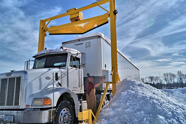 snow removal system for trucks