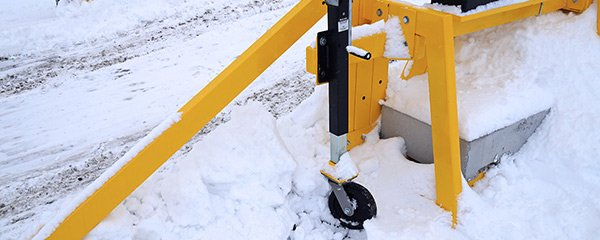 portable snow removal system