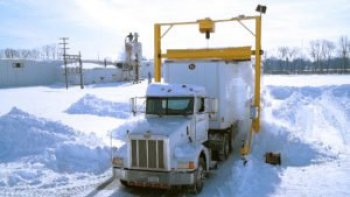 truck and trailer snow removal system