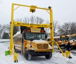 Heavy Duty Snow Scrapers for Buses